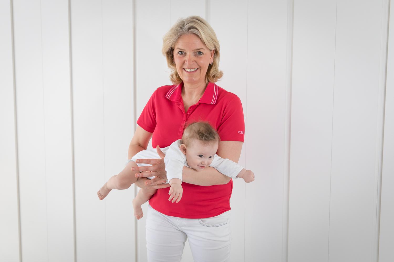 Nicola Stracke aus der Praxis Stracke hält auch Vorträge zur motorischen Entwicklung im Kindesalter